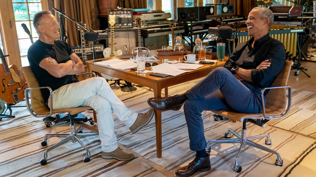 Obama and Springsteen's podcast reveals a key problem
