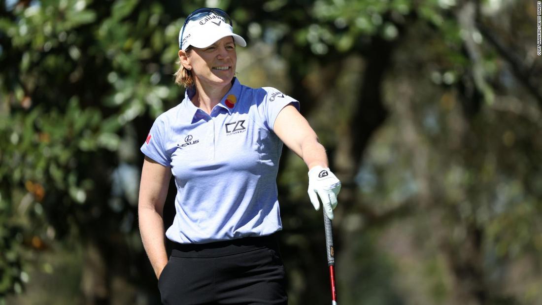 Annika Sorenstam's return to golf brings 'Tiger feeling' after 13-year absence