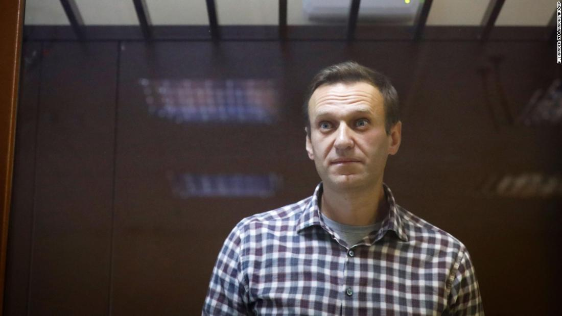 Putin critic Navalny sent to penal colony