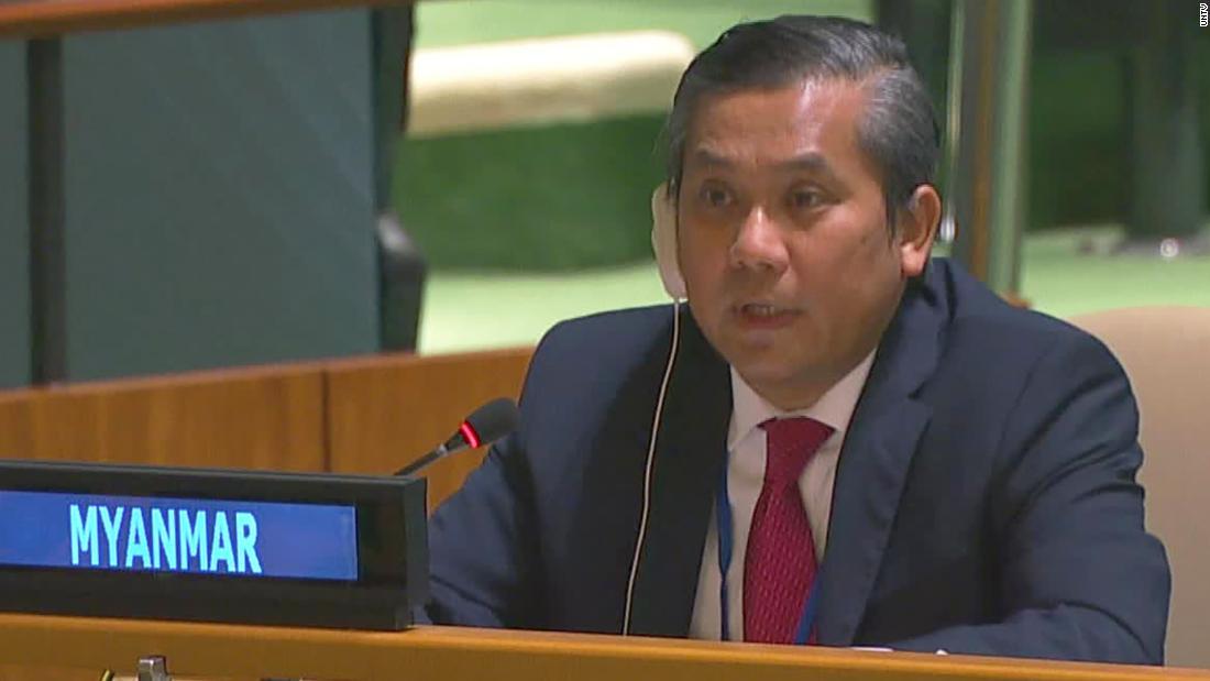 Myanmar's UN ambassador fired after anti-coup speech as military intensifies crackdown