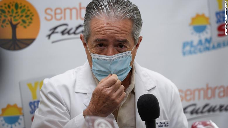 Ecuador's health minister resigns after vaccine access scandal