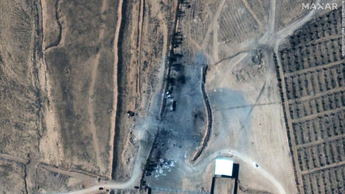 Satellite images reveal damage caused by Biden administration's first military strike