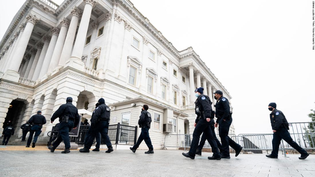 Capitol Hill security increased around chatter about March 4 conspiracies