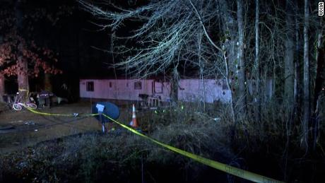 In the crash on Friday, parts of a plane crashed into a house in Gainesville, Georgia, killing three people on board.