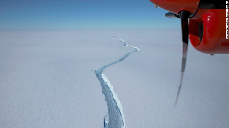 A huge iceberg that's bigger than New York City broke off near a UK base in Antarctica