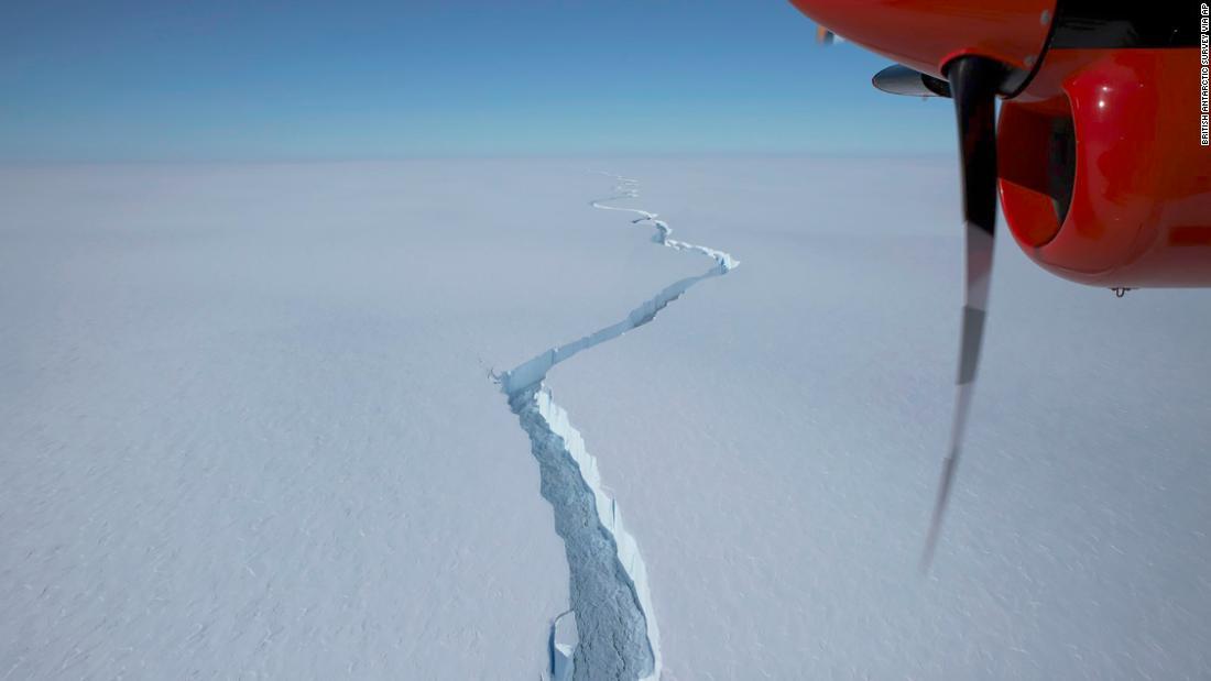A huge iceberg that's bigger than New York City broke off near a UK base in Antarctica