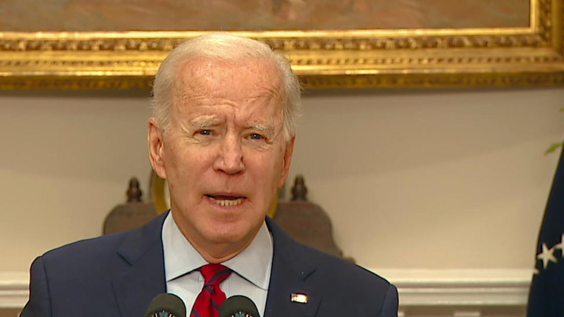 President Biden speaks after House passes Covid-19 relief package - CNN Video