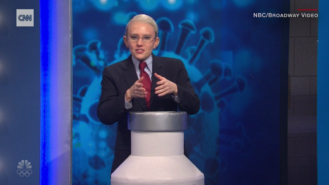 'SNL' has 'Dr. Fauci' helping people get vaccinated