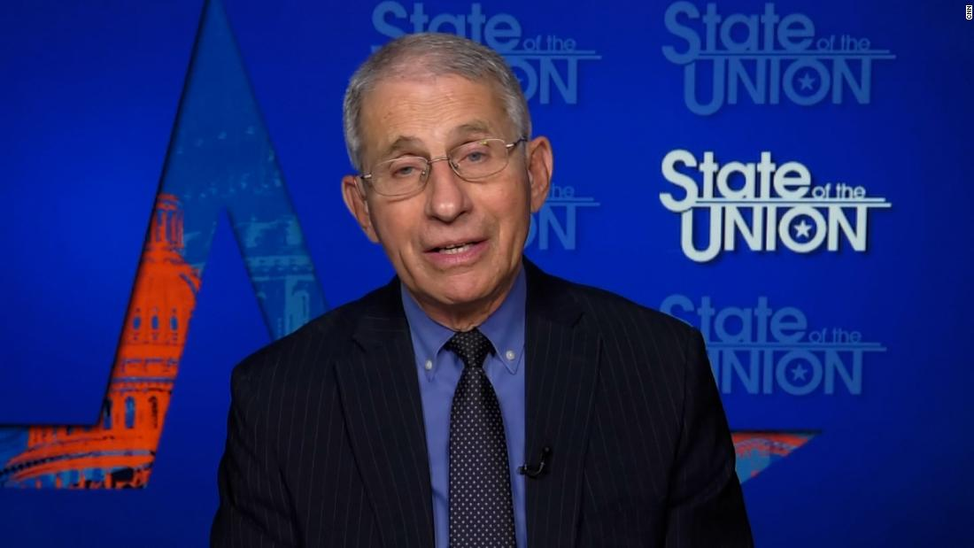 Dr. Fauci on case count in US: This is what history tells us