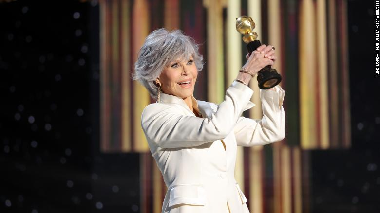 Read the full text of Jane Fonda's powerful speech at the Golden Globes