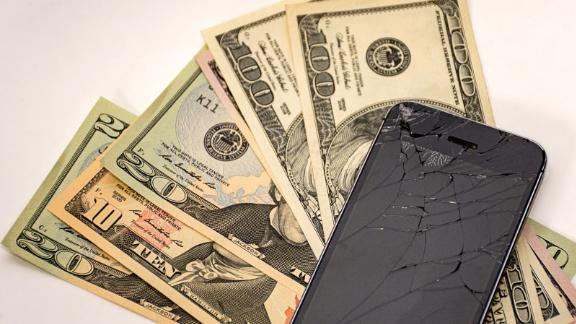 Even if your screen is cracked, your repair is covered under Amex