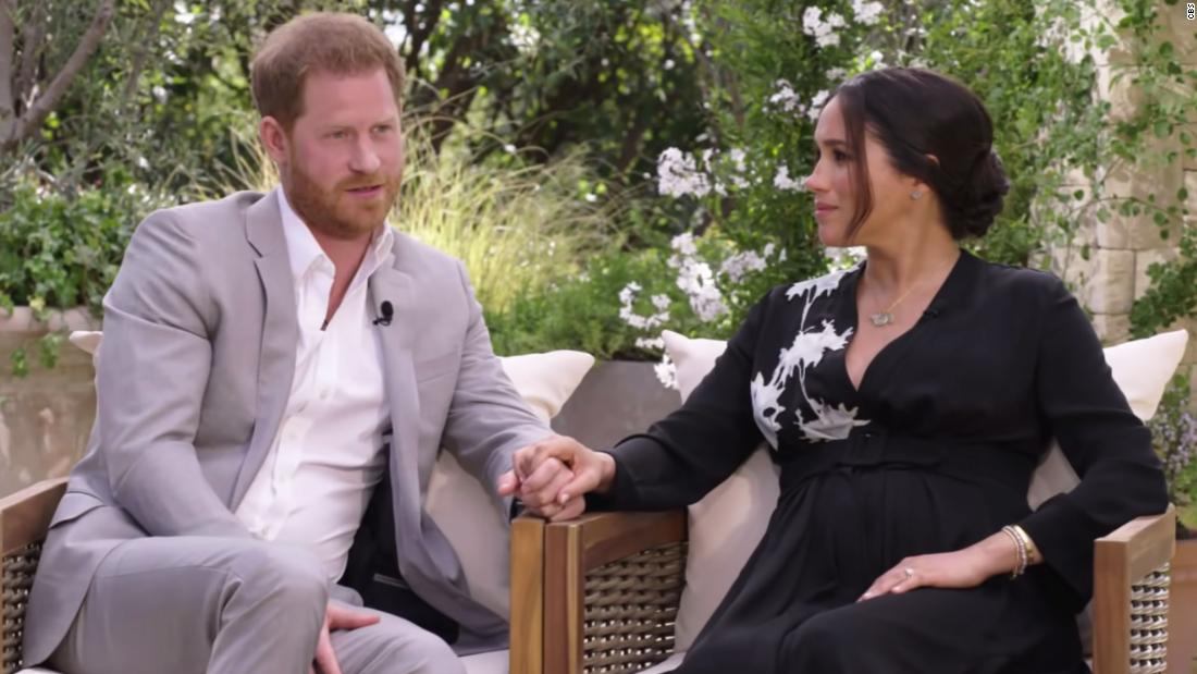 Prince Harry compares 'unbelievably tough' royal split to Diana's experience in Oprah interview – CNN