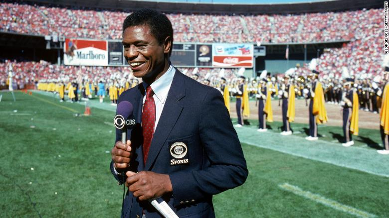 """Broadcasting pioneer and former NFL Pro Bowl cornerback<a href=""""https://www.cnn.com/2021/03/01/us/irv-cross-nfl-sportscaster-death/index.html"""" target=""""_blank""""> Irv Cross</a> died on February 28, the Philadelphia Eagles announced on the team's website. He was 81. Cross was the first African American sports analyst on national television when he worked for CBS Sports as an NFL analyst and commentator from 1971 to 1994."""