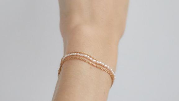 Catbird Pearl Buffet Bracelet