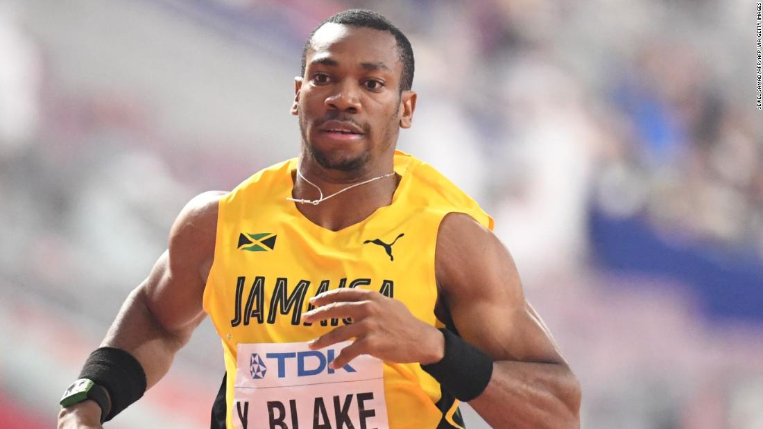 Sprinter Yohan Blake says he would rather miss Olympics than get Covid-19 vaccine