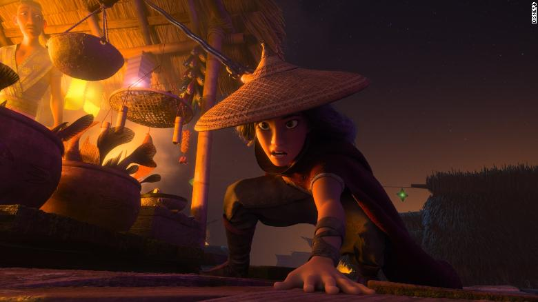 'Raya and the Last Dragon' mixes a serious message with its animated action