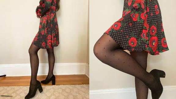 Sheertex's Mini-Dot Ultra Sheer Tights