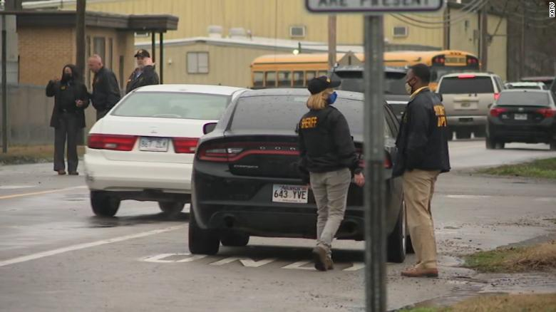 One student hurt in school shooting in Pine Bluff, Arkansas