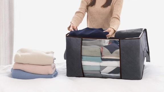 Lifewit Large Capacity Clothing Storage Bag Organizer