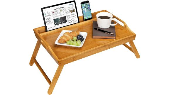 Rossi Home Media Bed Tray With Phone Holder