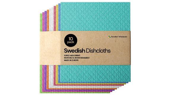 Swedish tea towel cellulose sponge towels