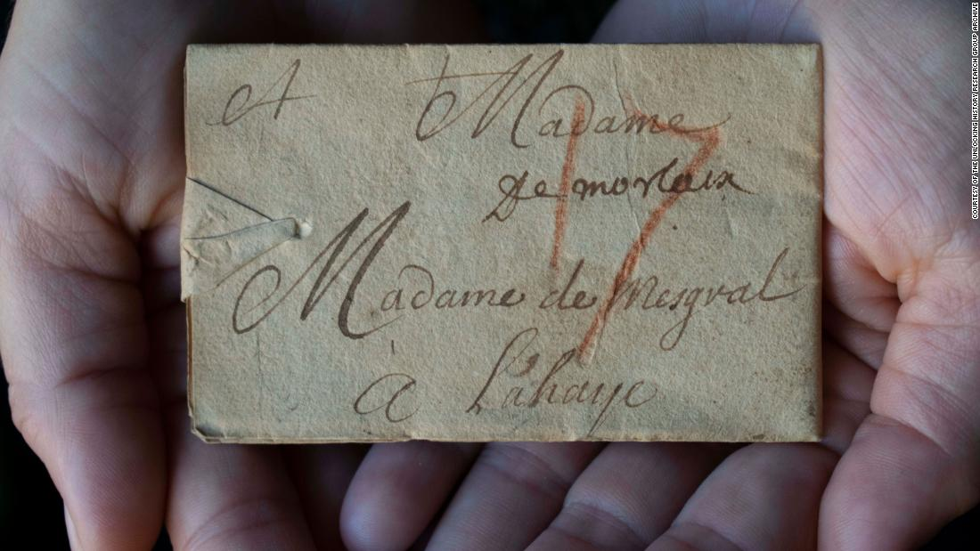 Rare 'locked' letter sealed 300 years ago is finally opened virtually