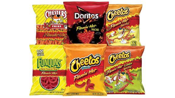 Frito-Lay Flamin' Hot Mix Variety Pack, 40-Pack