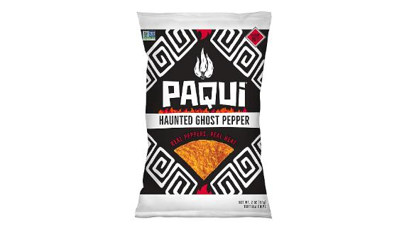 Paqui Haunted Ghost Pepper Spicy Hot Tortilla Chips, 6-Pack