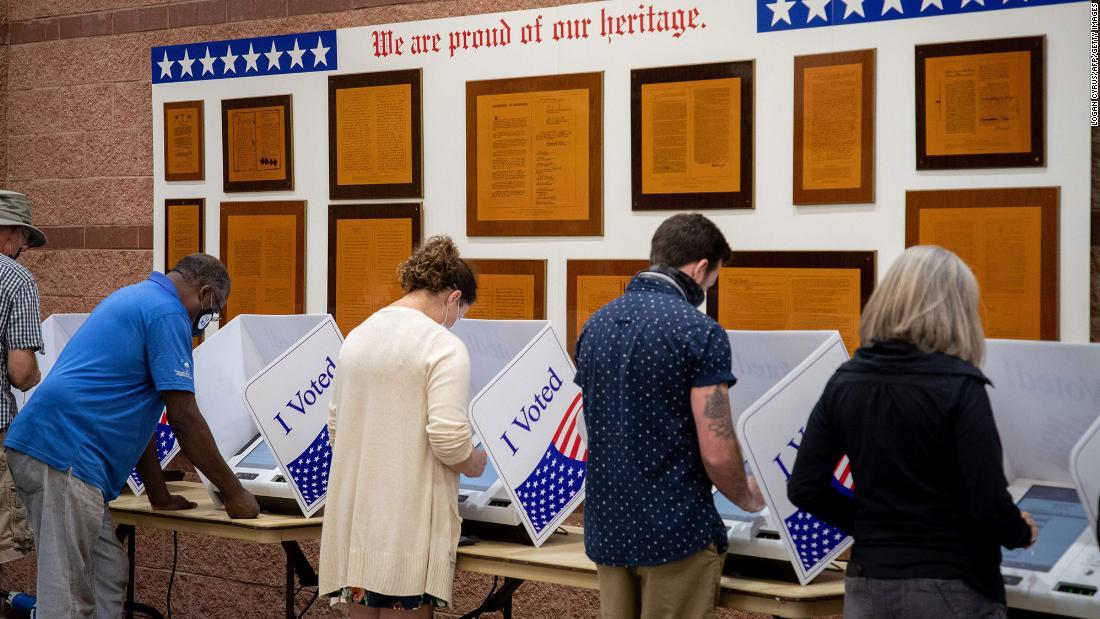 Biden to sign executive order expanding voting access - CNN