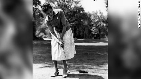 At the age of 36 Althea Gibson made history after becoming the first African American golfer to earn status on the LPGA Tour. She was also known for her seminal tennis career.
