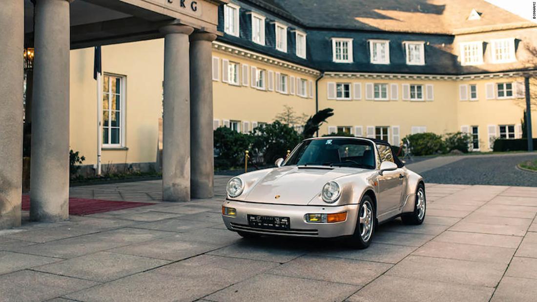 Diego Maradona's Porsche is up for sale