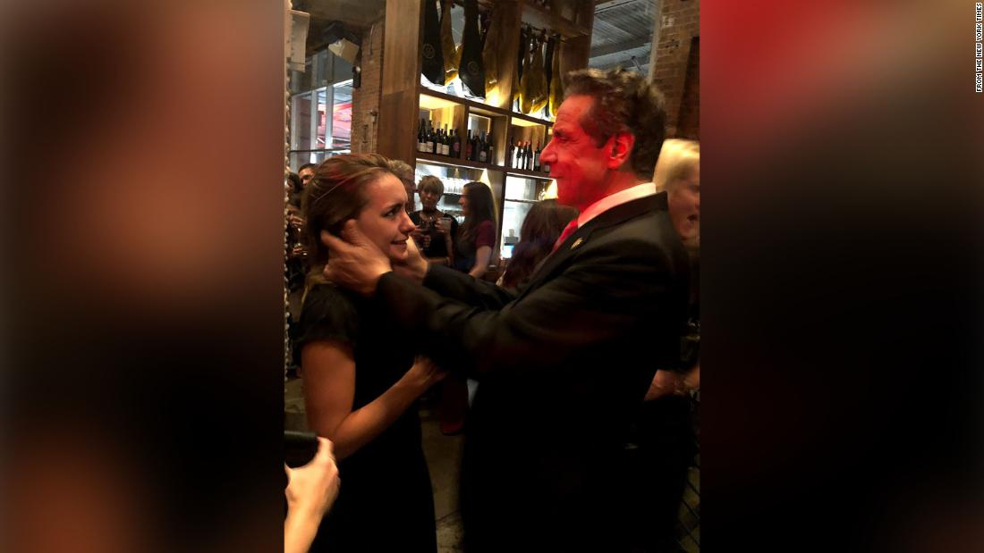 Cuomo made unwanted advance toward woman during 2019 wedding, witness says