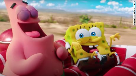 ViacomCBS hopes that SpongeBob and Patrick will drive people to subscribe to Paramount+.