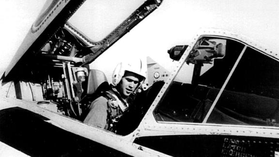Bush was a pilot in the Texas Air National Guard from 1968-1970. His father was a naval aviator who fought during World War II.