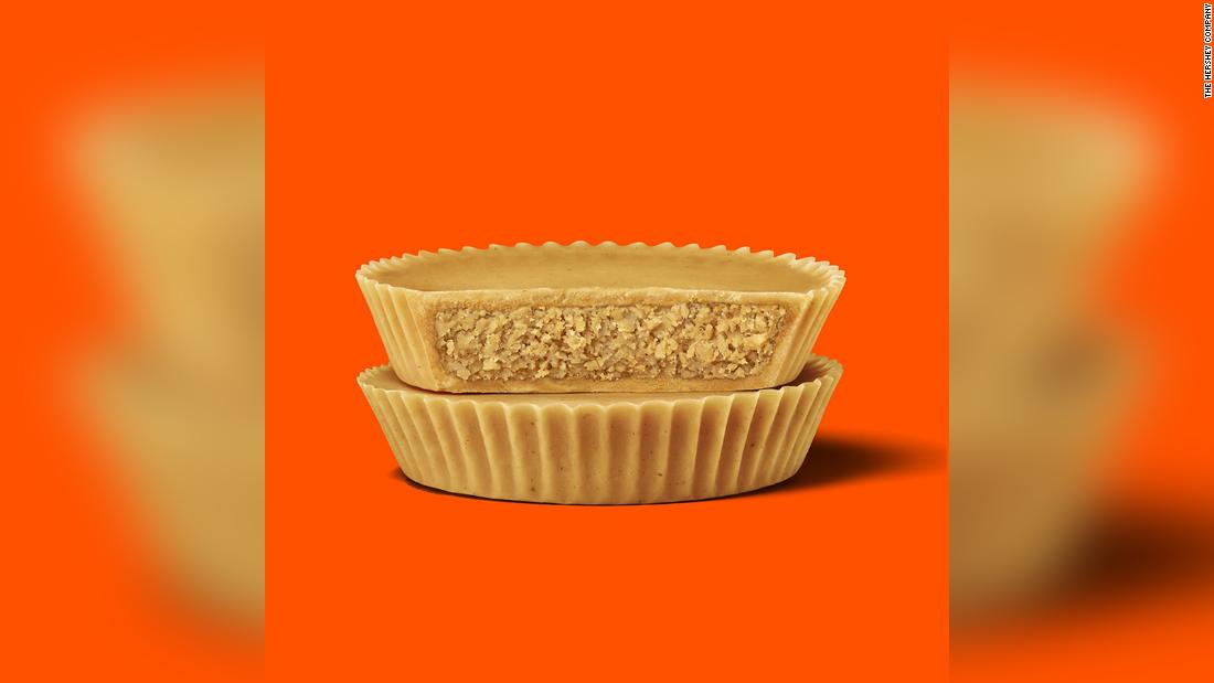 Reese's is launching a peanut butter cup without any chocolate - CNN