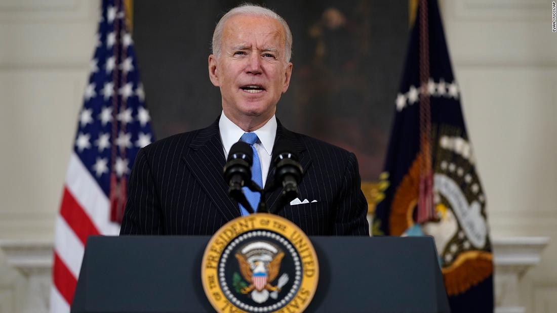 Biden urges patience on Covid as Republican governors go rogue on reopenings