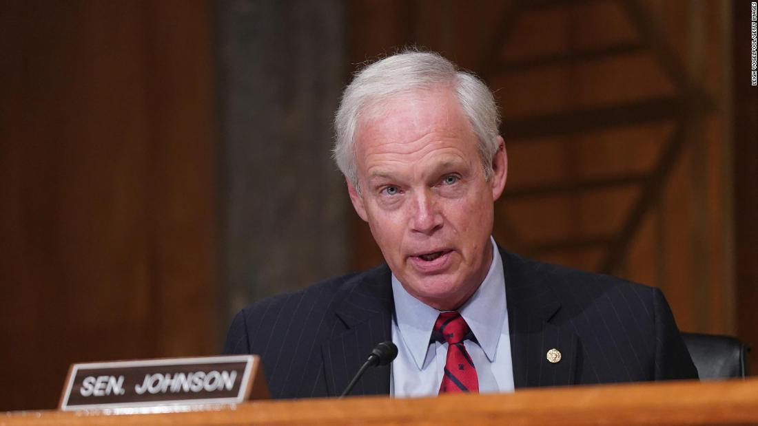 Ron Johnson says he might have been concerned for safety had Capitol rioters been BLM and Antifa