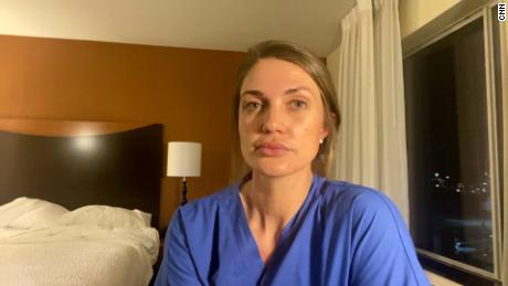 An exhausted Texas ICU nurse says she's scared about an end to the state's mask mandate