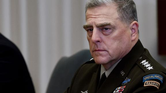 Chairman of the Joint Chiefs of Staff, Army US Army Gen. Mark Milley