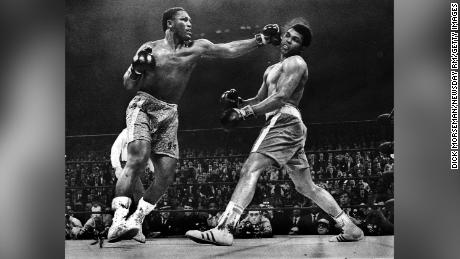 In the 15th and final round, Frazier floored Ali with a devastating left hook.