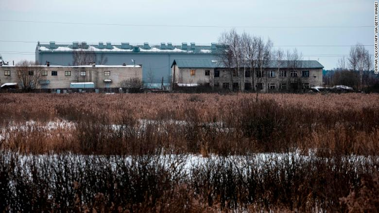 The rough conditions inside prison camp where Navalny is being held