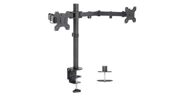 Vivo Dual LCD Monitor Desk Mount Stand