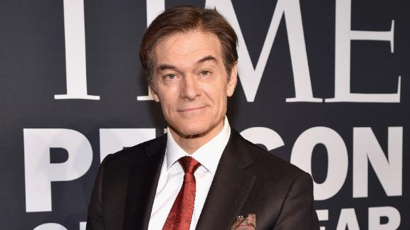 Image for Dr. Oz helped save a man who collapsed at a New York City-area airport