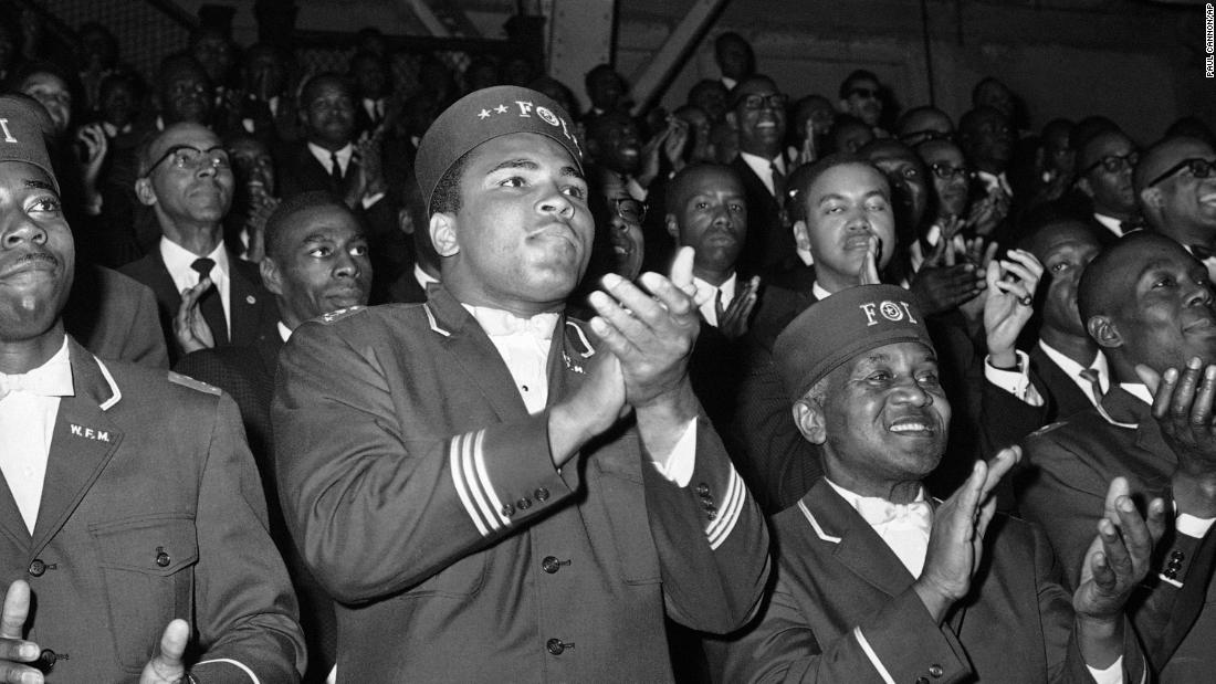 March 6, 1964 -- In the wake of winning the world title, Clay announced his affiliation with The Nation of Islam, and after briefly becoming Cassius X, he changed his name to Muhammad Ali.