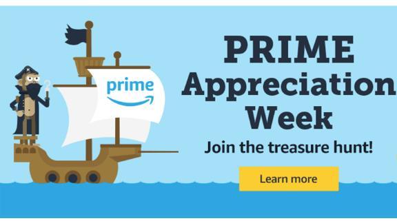 Woot! Prime Appreciation Week