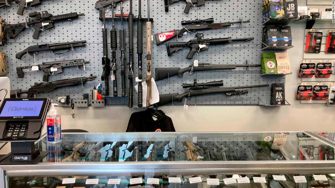 Winter storm cools gun sales after Capitol insurrection led to record-setting January
