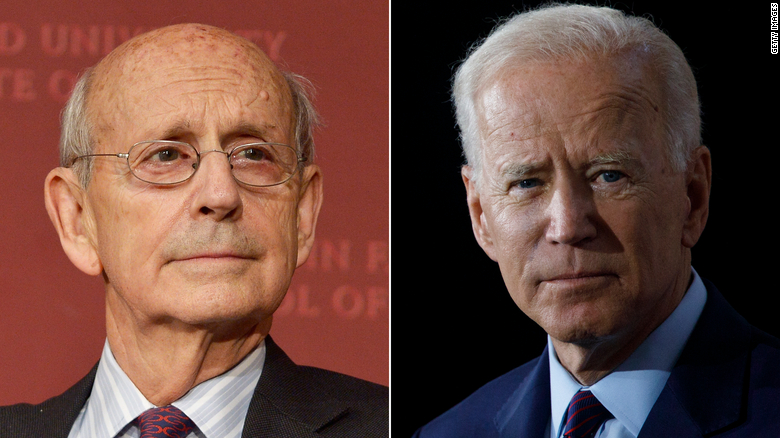When Justice Stephen Breyer rules (on retirement), the White House might know first