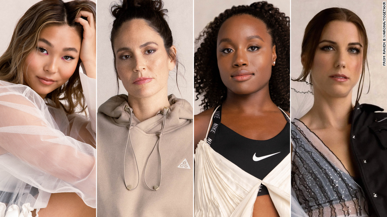 Women in sports don't get the media coverage that men do. These 4 Olympians are trying to change that