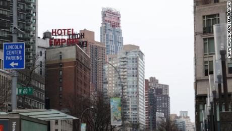 200 Amsterdam rises on the Upper West Side of Manhattan in February 2020.