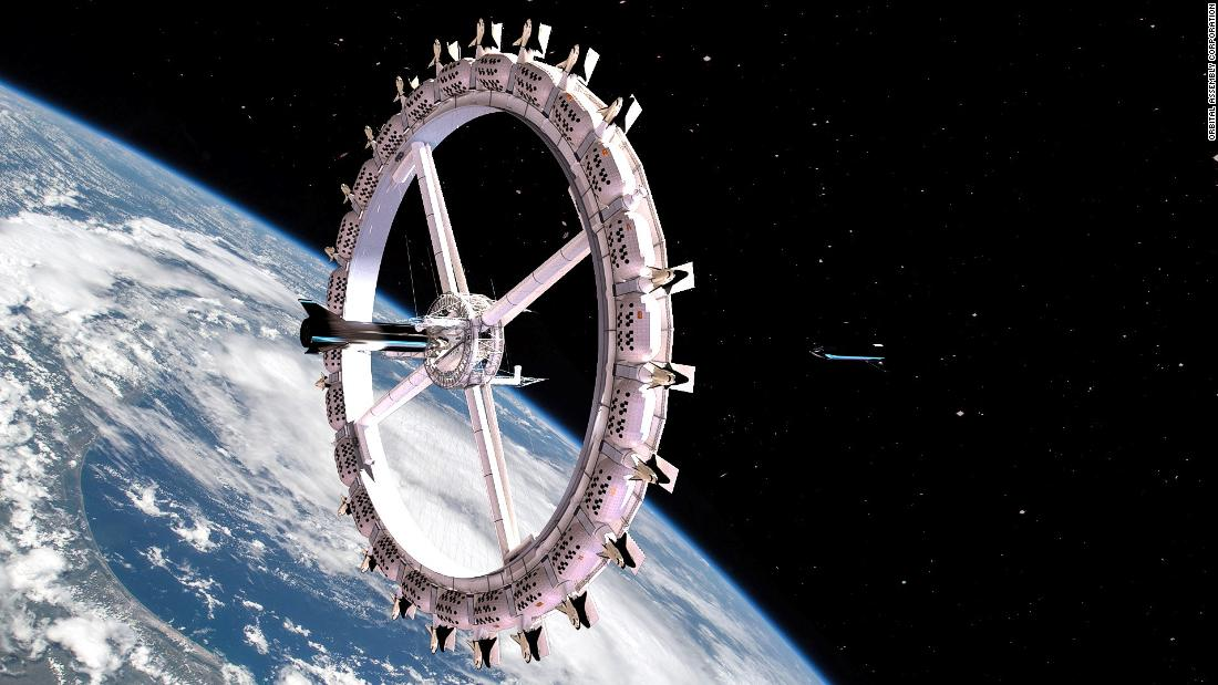 First space hotel set to open in '27. Will you be booking?